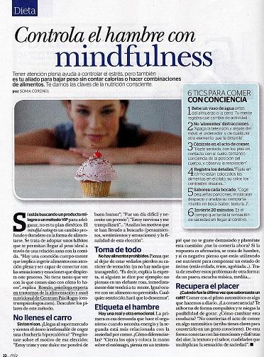 Centrum en Revista MÍA: controlar el hambre con mindfulness